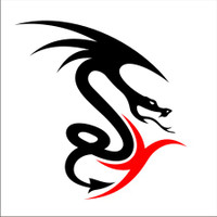 Dragon Decal #41 two color