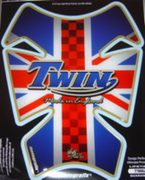 Triumph Twin British Flag Pad