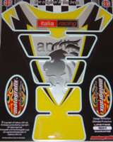 Aprilia Lions Head Yellow Tank Pad