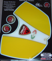 Ducati 999/749 Yellow Tank Pad