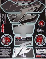Silver FZ Style Tank pad