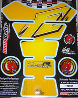 Yellow FZ Style Tank Pad