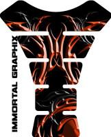 Burnt Orange Tribal Design