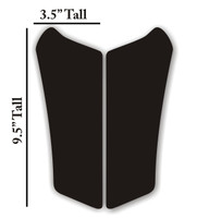 Can AM Spdyer RS Jet Gloss Black Motorcycle Tank pad