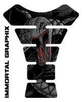 Venom Snake Black Motorcycle Tank Pad protector