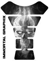 Ice Skull White Tank Pad protector