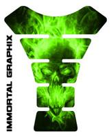 Exploding Skull Green