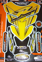 Yellow R Factory Racing Quadra Pad