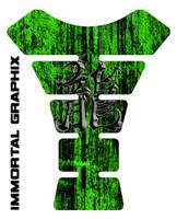 Dragon Kanji Green Tank Pad