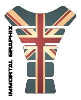 British Flag Vintage Tank Pad