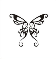 Butterfly Decal #4