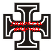 Maltese Cross Decal #1-3