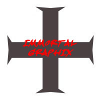 Maltese Cross Decal #2