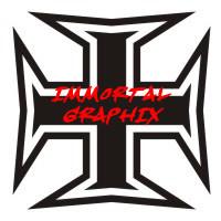 Maltese Cross Decal #2-1