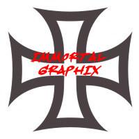 Maltese Cross Decal #5-1