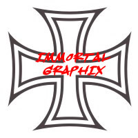 Maltese Cross Decal #5-2