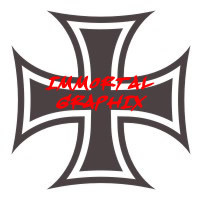 Maltese Cross Decal #5-3