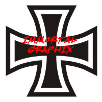 Maltese Cross Decal #7-1