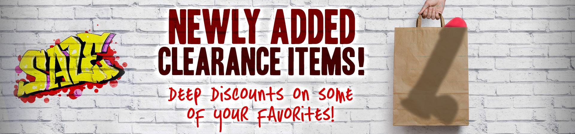 Newly Added Clearance Items!