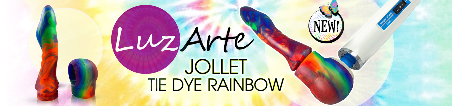 New Luz Arte - Jollet Tie Dye Rainbow!