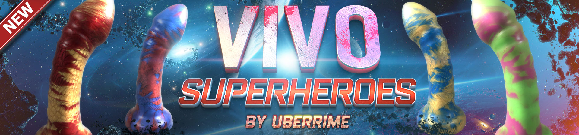 New! Vivo Superheroes By Uberrime