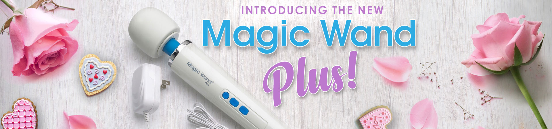 Introducing The New Magic Wand Plus!