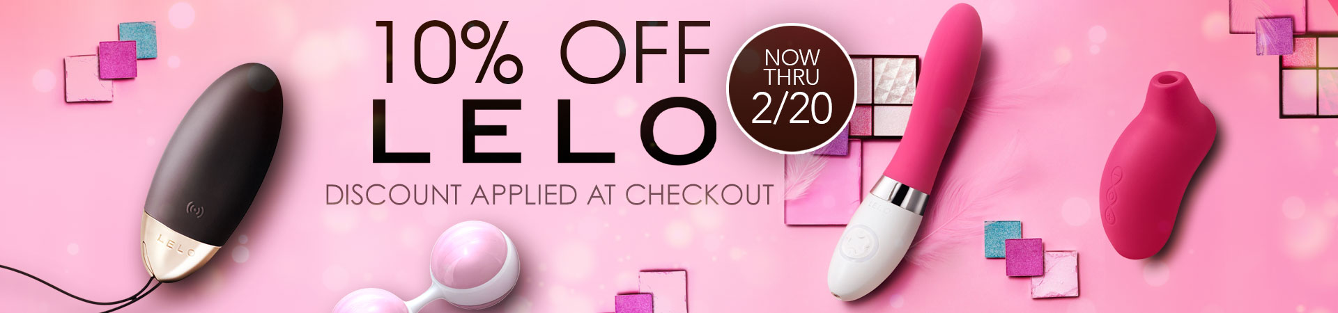Save 10% On All Lelo Products - Discount Applied At Checkout - Now Thru 2/20