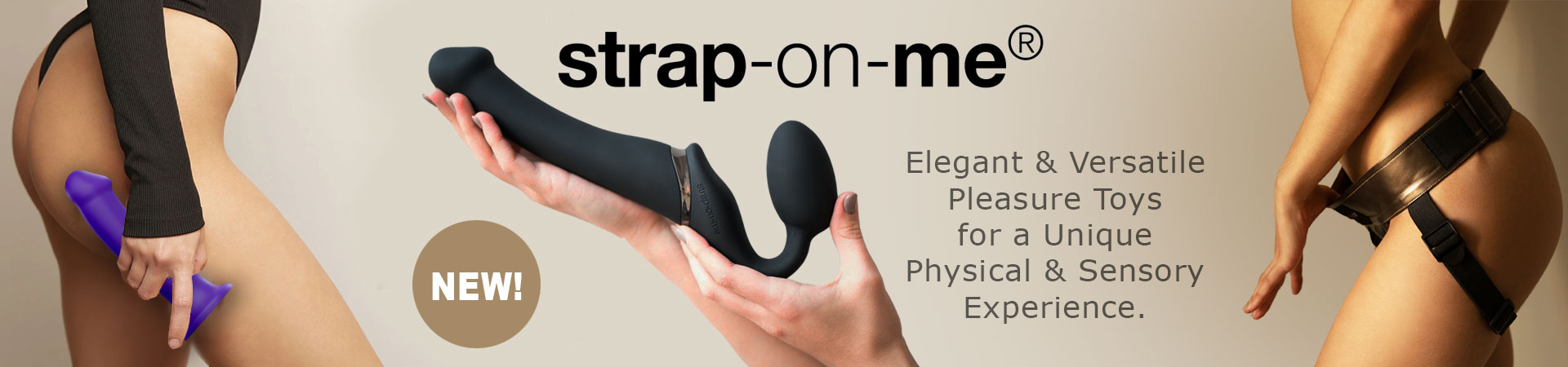 NEW! Strap-On-Me