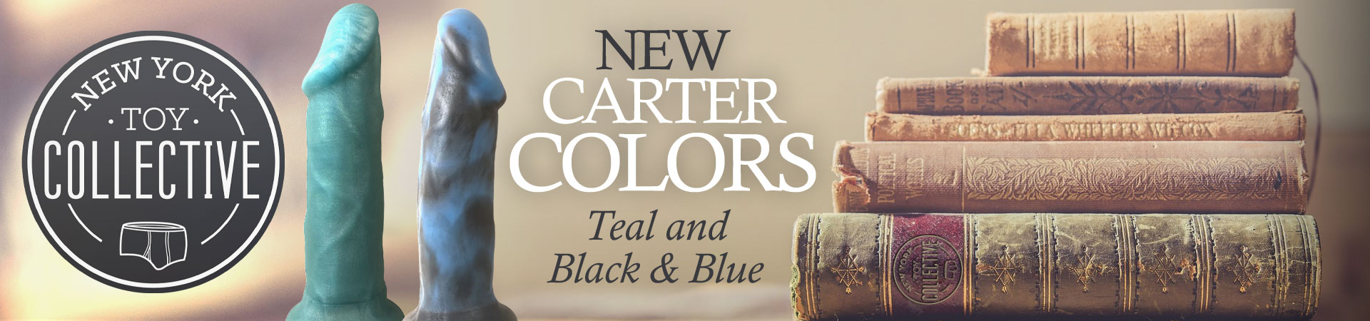 New Carter Colors! Teal And Black & Blue From New York Toy Collective