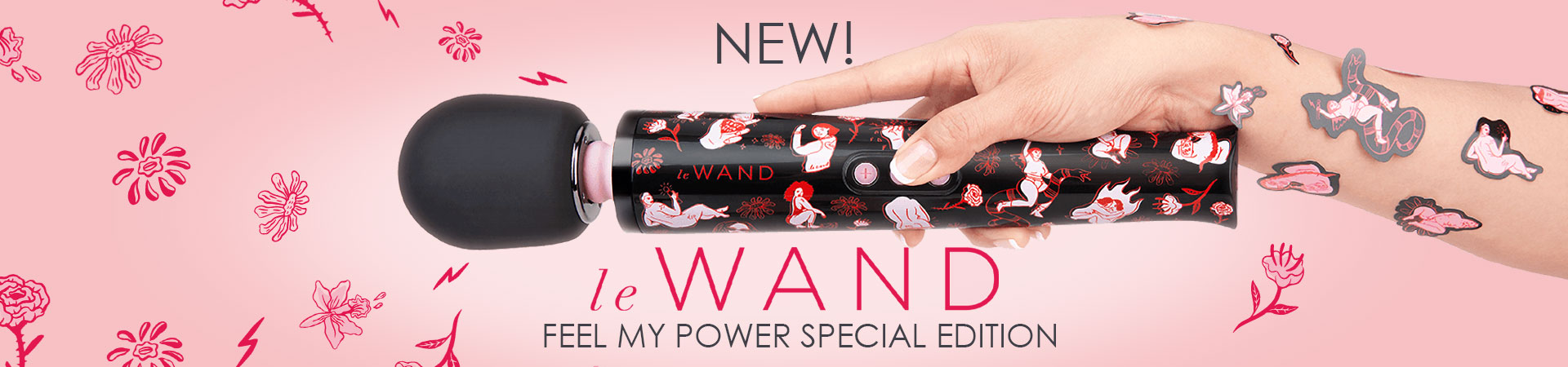 New Le Wand Feel My Power Special Edition