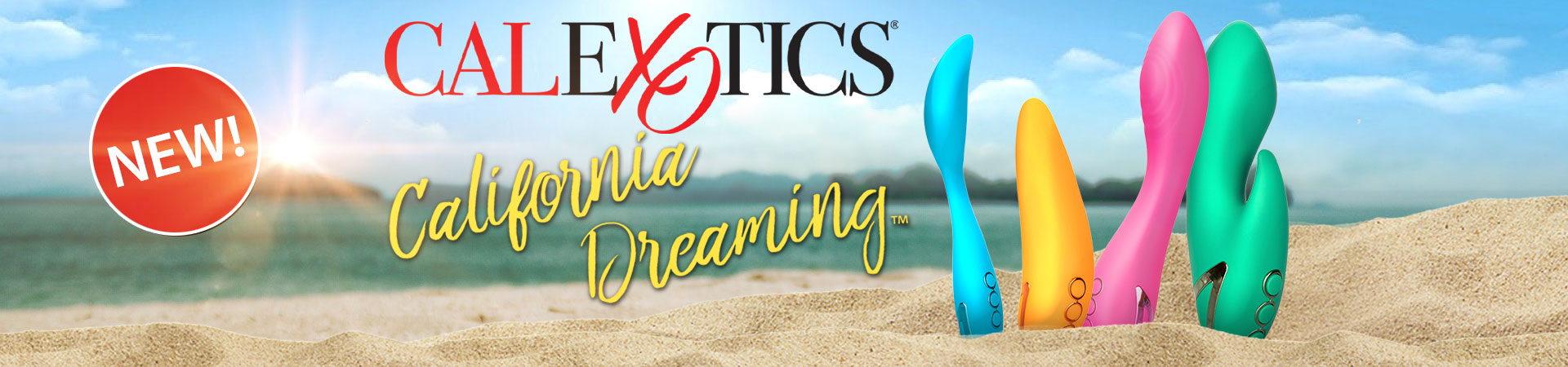 New at SheVibe! More Vibe Additions To The California Dreaming Collection From CalExotics!