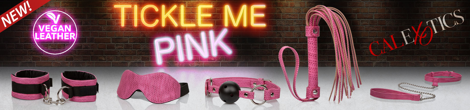 New at SheVibe! The Tickle Me Pink Light Bondage Line is Here!