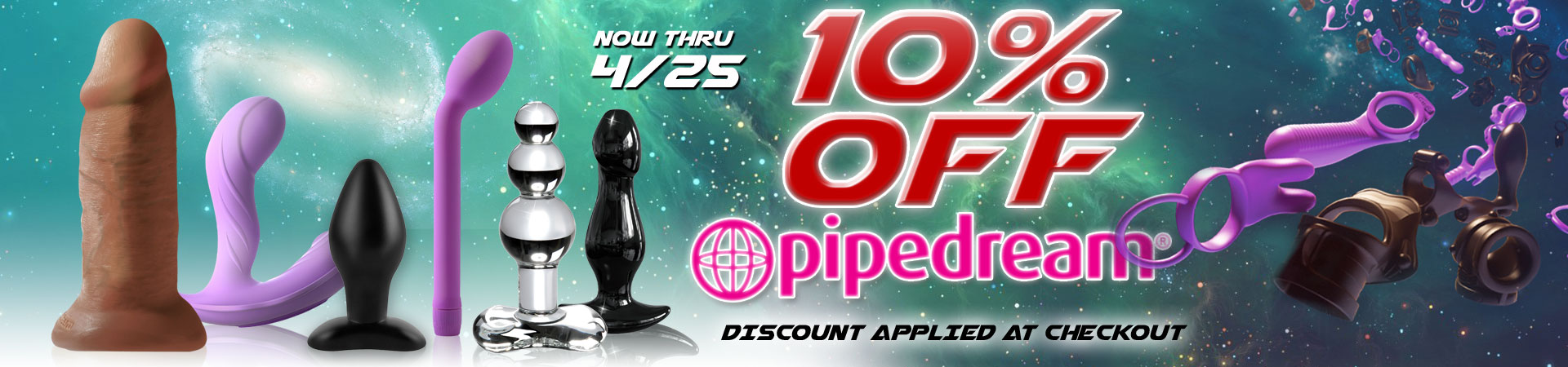 Right NOW at SheVibe! Save 10% on over 390+