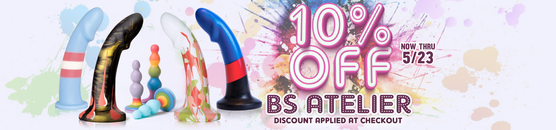 10% Off BS Atelier - Now Thru 5/23 - Discount Applied At Checkout