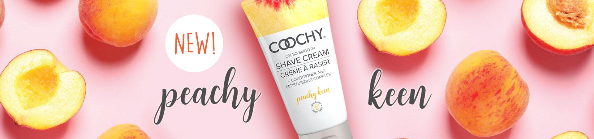 New Peachy Keen Coochy Cream!