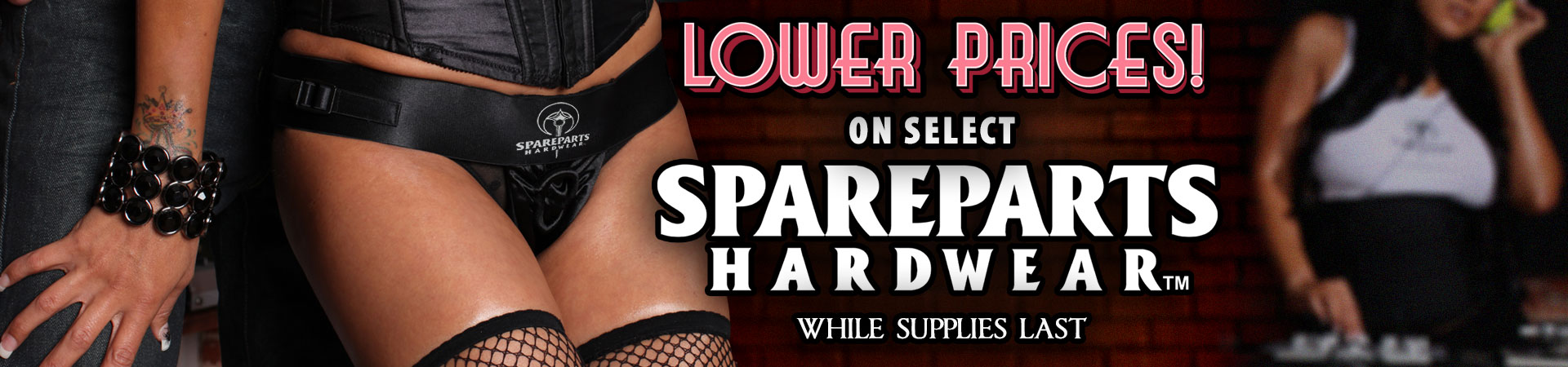 Lower Prices On Select SpareParts Hardwear