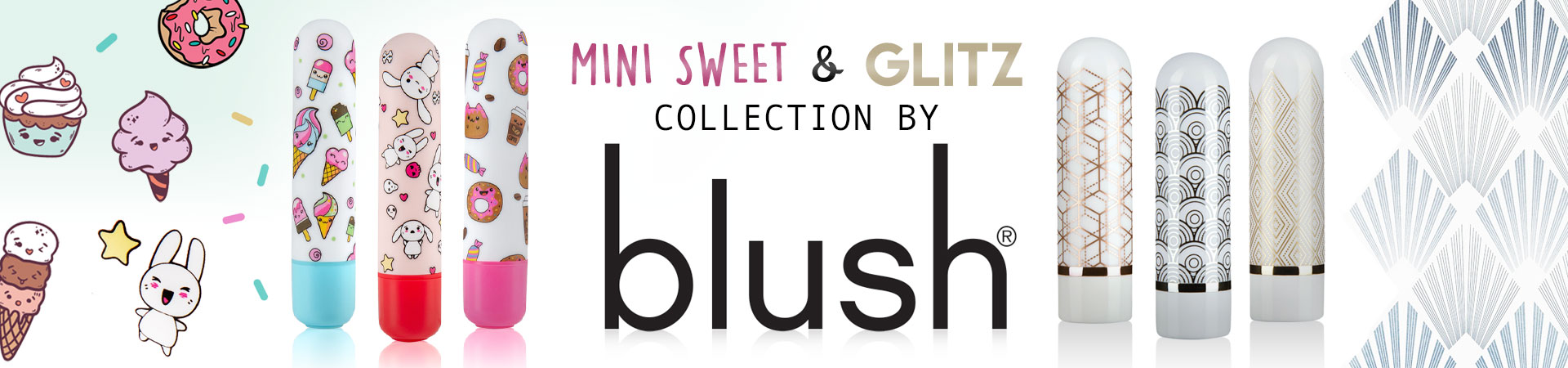 New The Collection Glitzy & The Collection Mini Sweet Vibes From Blush