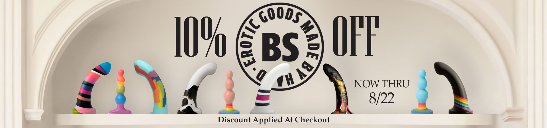Save 10% On BS Atelier Handmade Silicone Designs - Now Through August 22nd - Discount Applied At Checkout