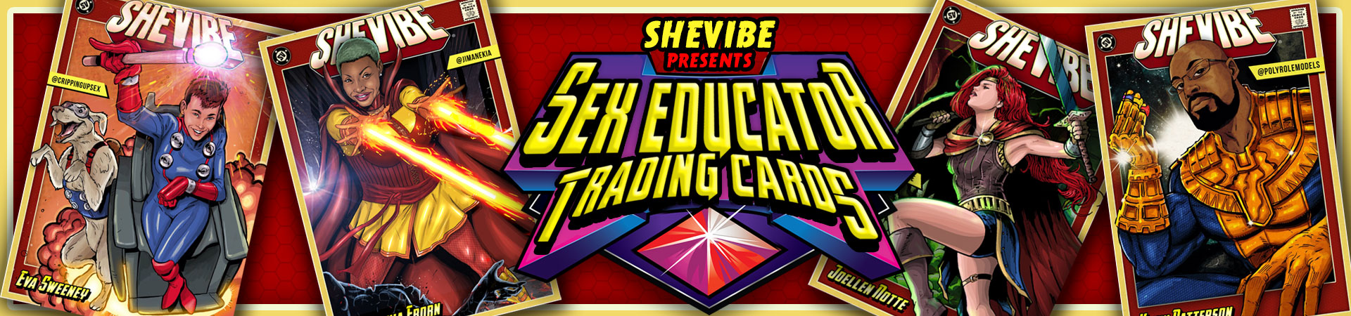 SheVibe Presents: Sex Educator Trading Cards!