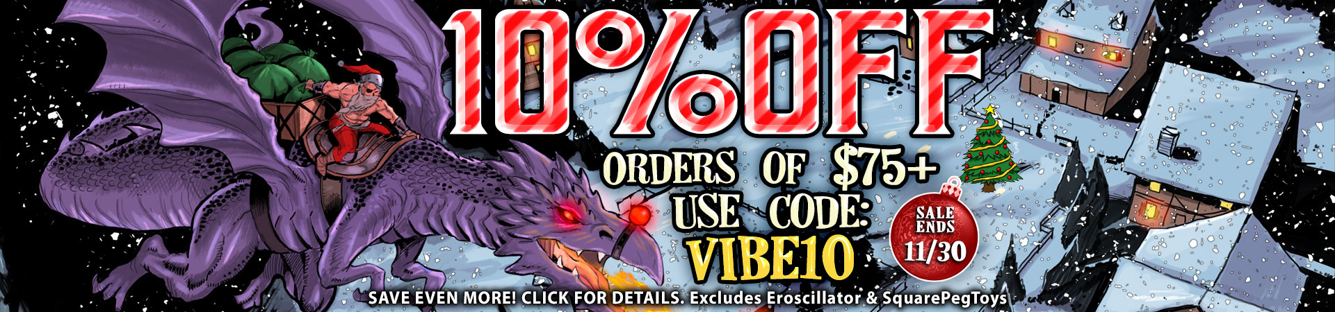 10% OFF ORDERS OF $75+ USE CODE: VIBE10