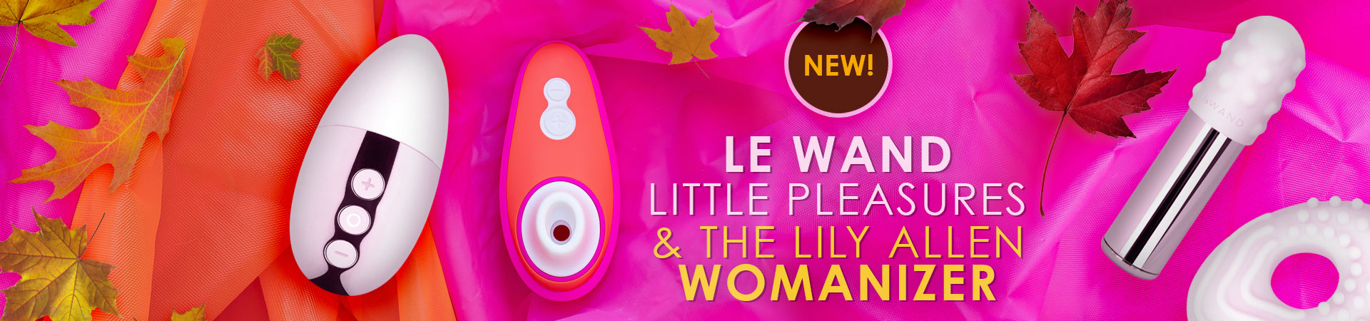 New Le Wand & Womanizer