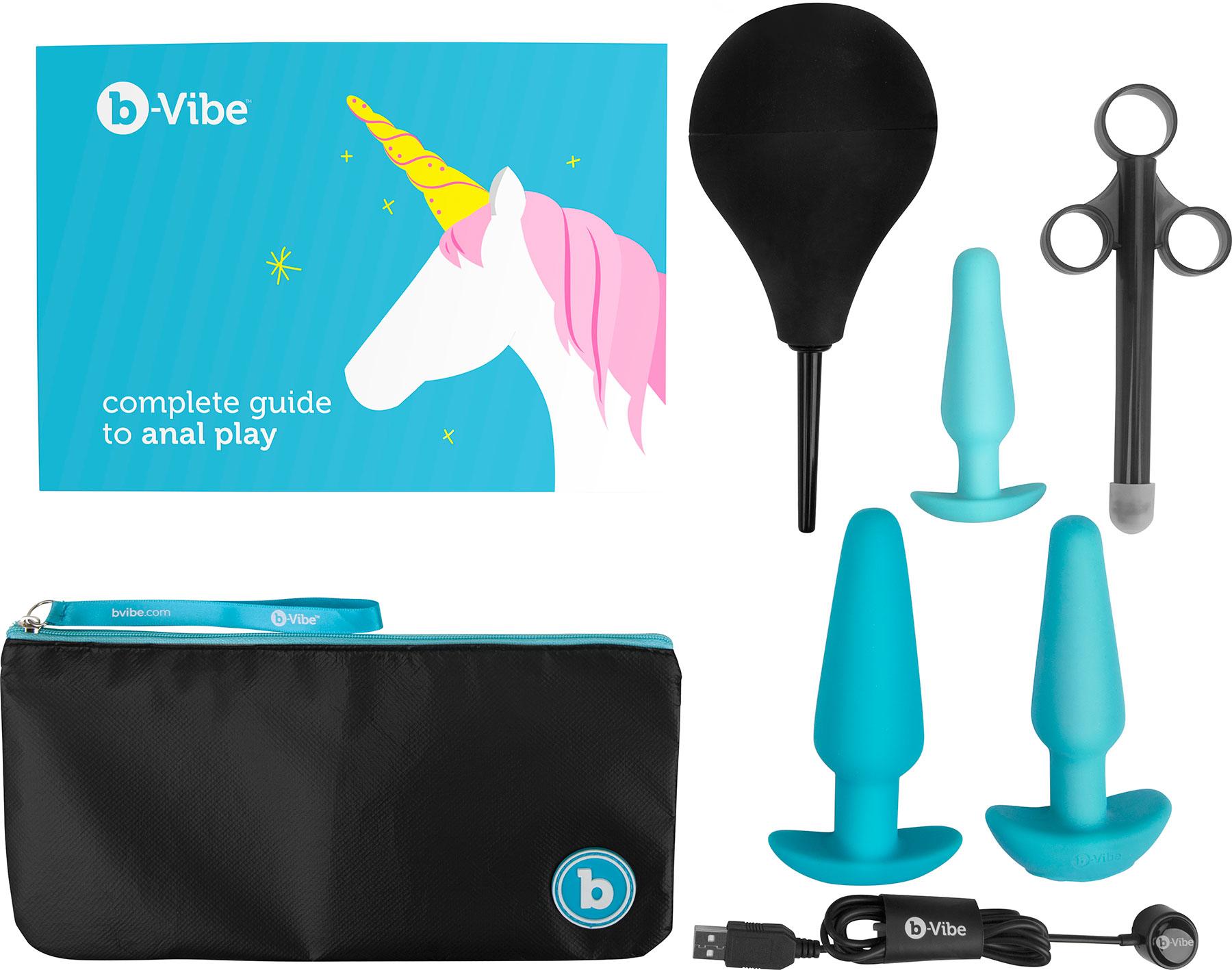 b-Vibe Anal Training & Education Set - Ce include setul
