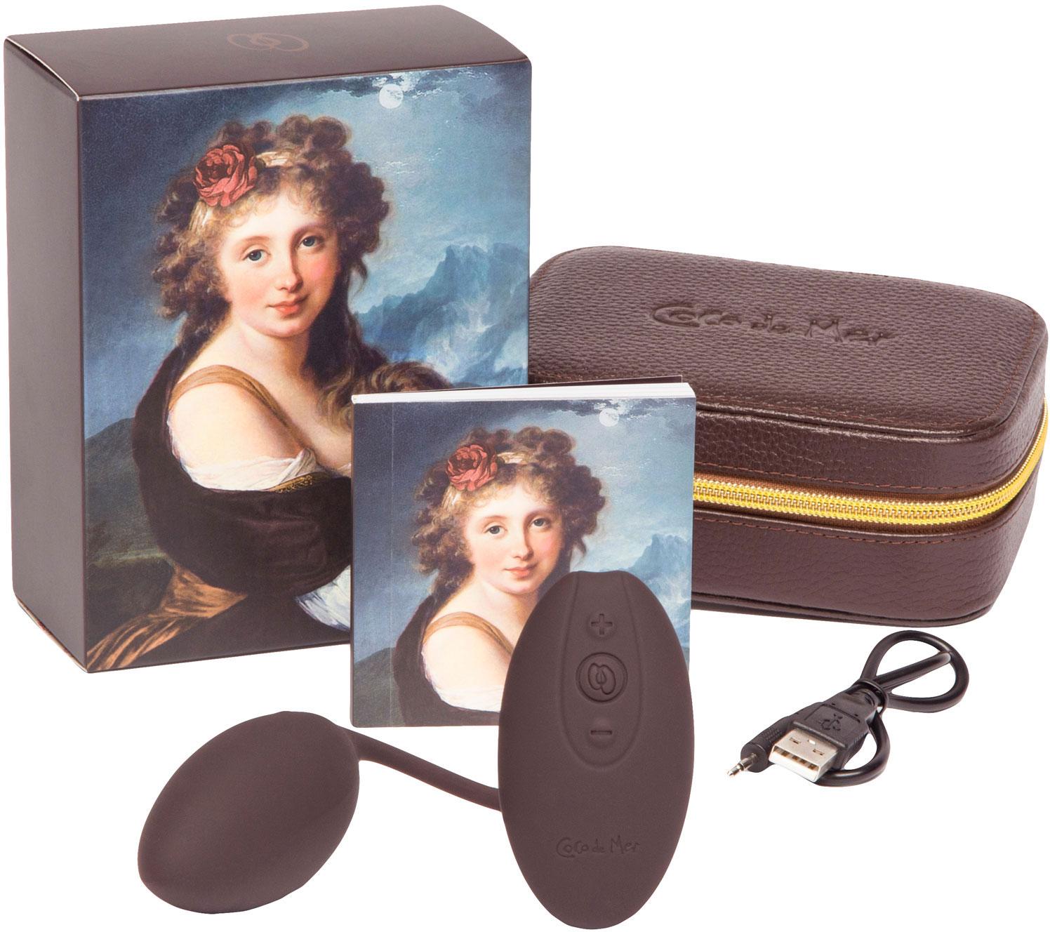 Coco de Mer Emma Remote Control Silicone Love Egg Vibrator - What's Included?