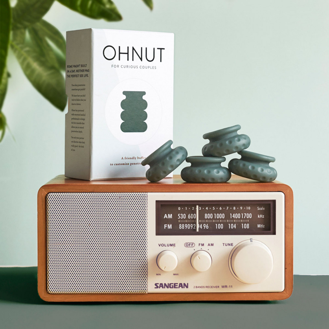 Ohnut Intimate Wearable Penetration Buffer - Lifestyle