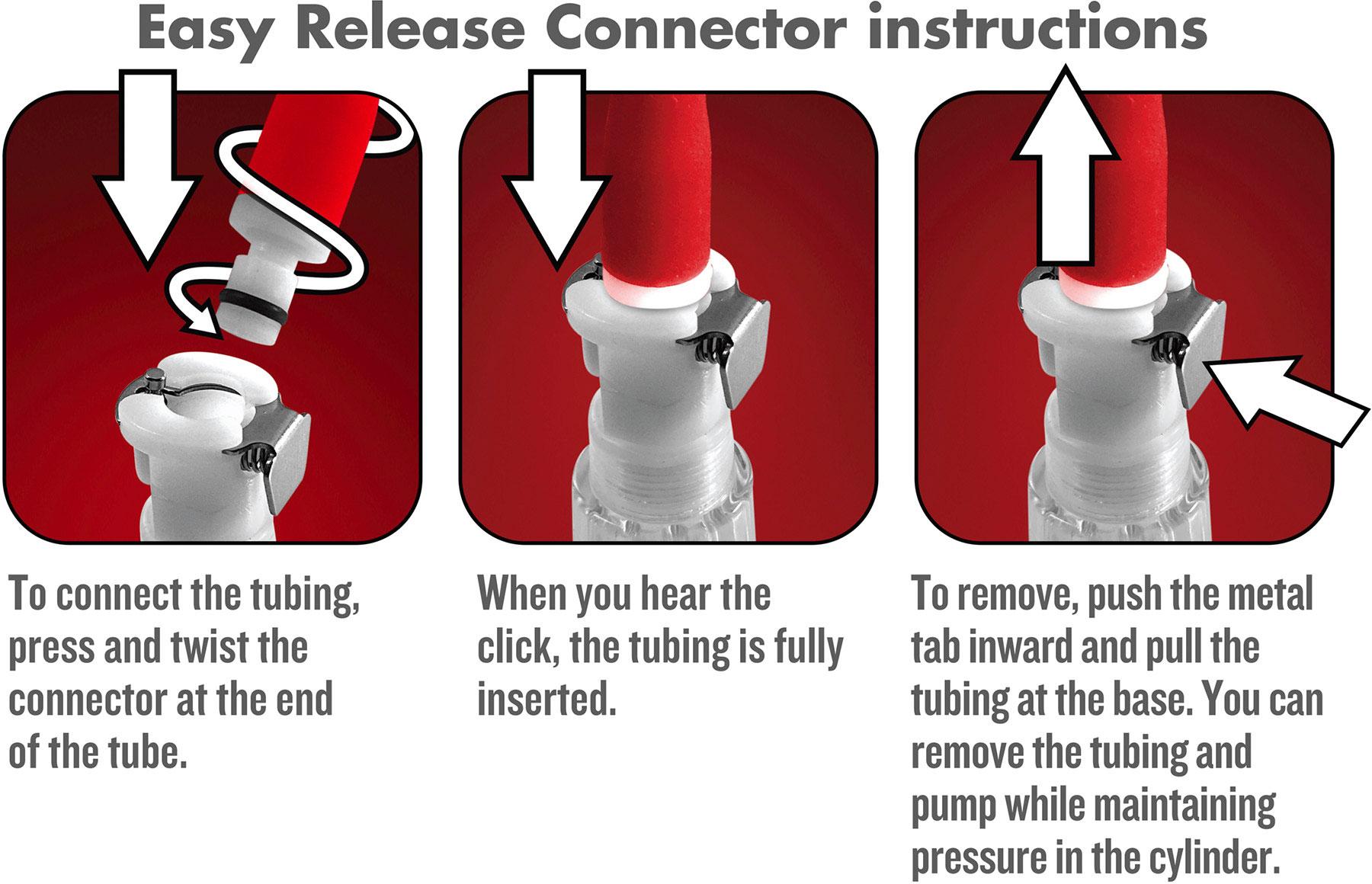 Temptasia Nipple Squeeze Pump System - Directions