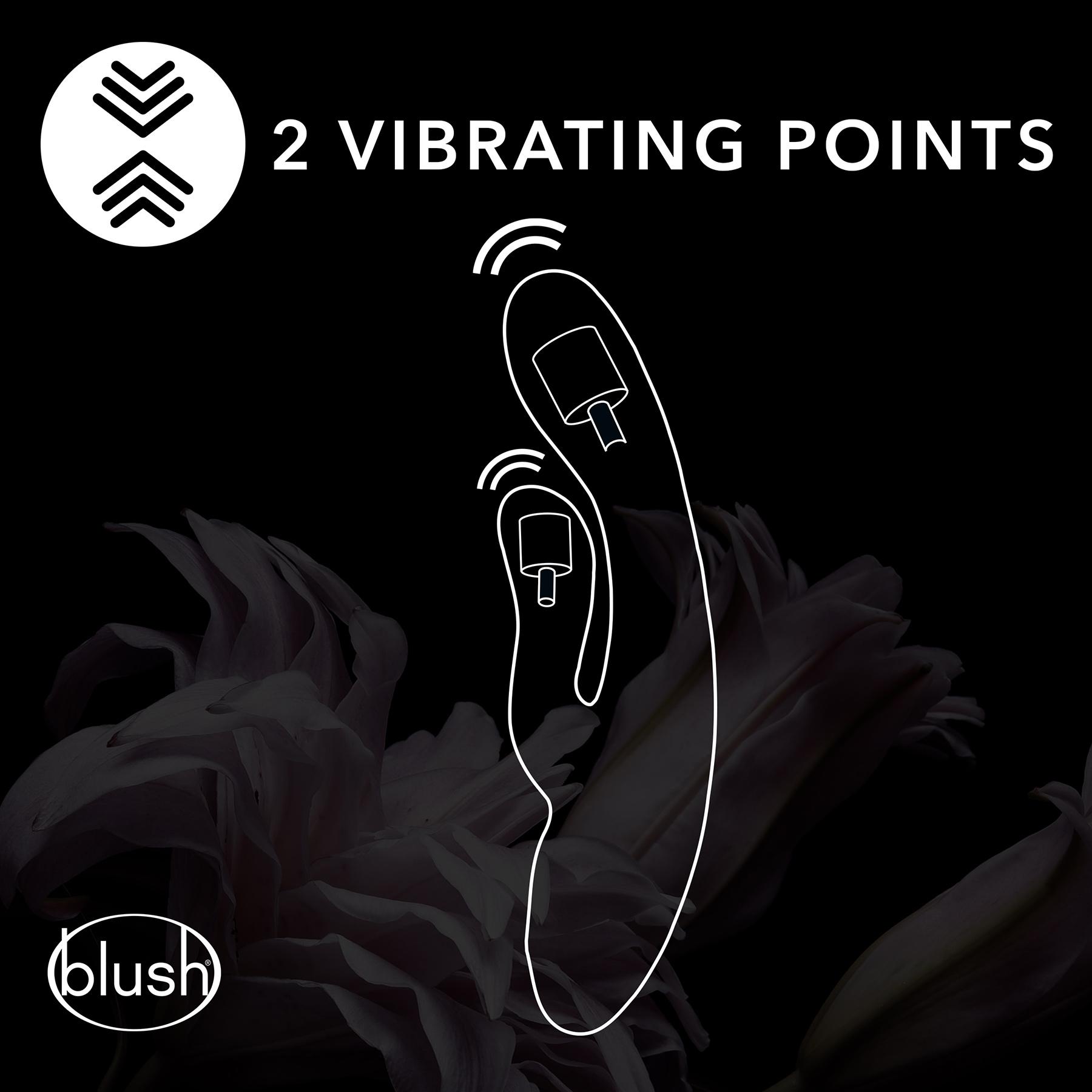 Hop Trix Silicone Dual Stimulation Vibrator - Vibrating Points