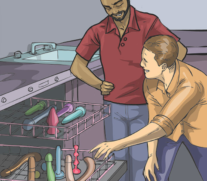 How To: Clean and Safely Store Your Sex Toys