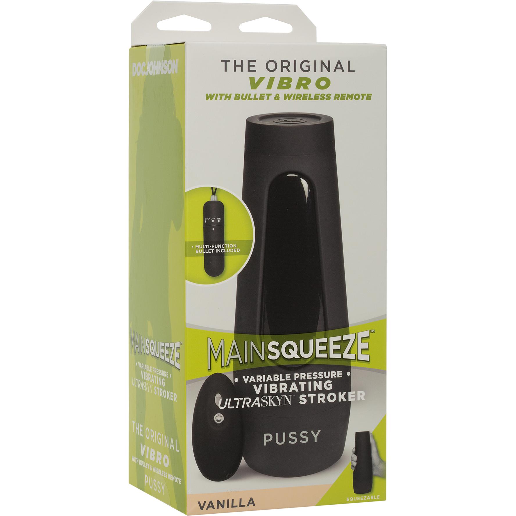 Main Squeeze Penis Masturbator Package