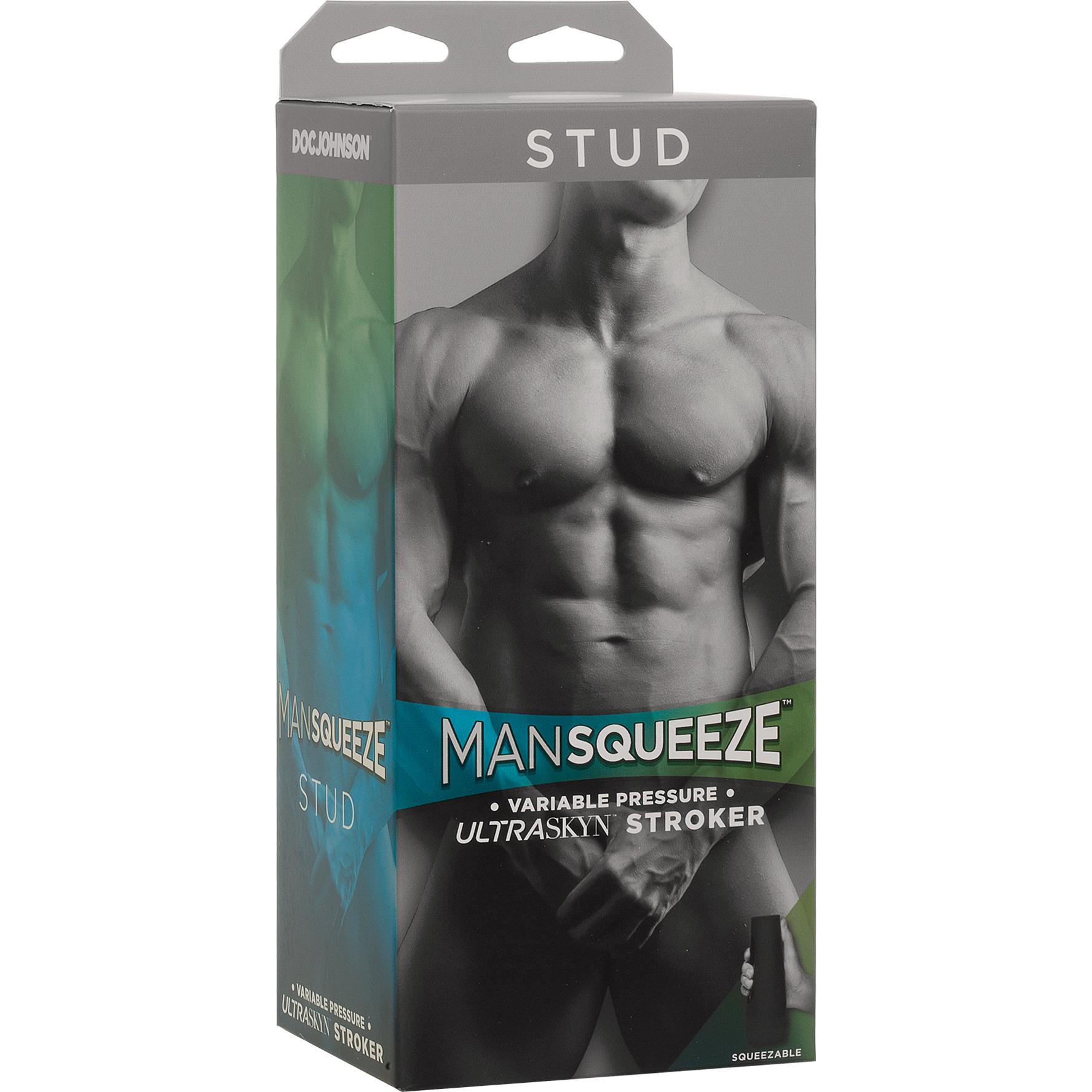 Man Squeeze Penis Masturbator Package