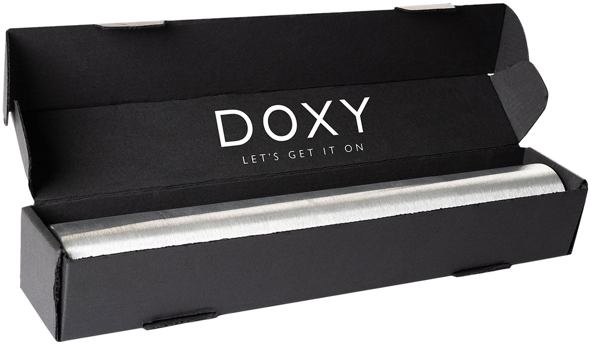 Doxy Number 3R Rechargeable Aluminum Extra Powerful Massage Wand Vibrator - In Open Box
